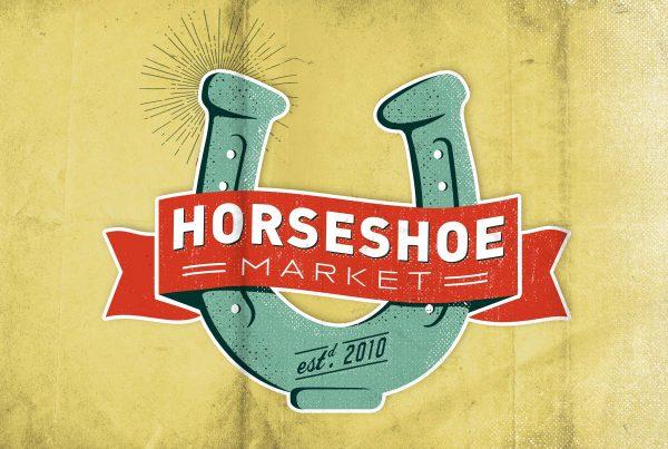 Horseshoe Market Logo Design